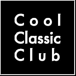 Cool Classic Club - tekst met lijst - wit