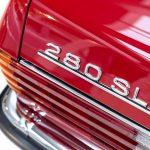 Mercedes 280 SL rood-8956