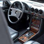 Mercedes 280 SL rood-8966