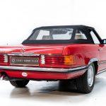 Mercedes 280 SL rood-8971