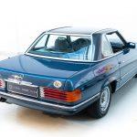 Mercedes 280SL blauw-3655