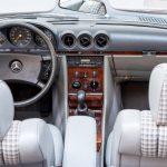 Mercedes 280SL blauw-3664