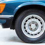 Mercedes 280SL blauw-3679