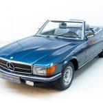 Mercedes 280SL blauw-3690