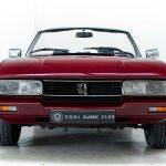 Peugeot cabrio rood-8252