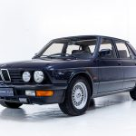 BMW 5 serie blauw-