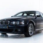 BMW M5 blauw-