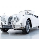 Jaguar XK140 wit-