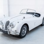 Jaguar XK140 wit-8639
