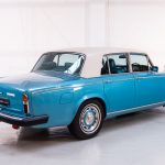 Rolls Royce Silver Shadow II blauw-9401