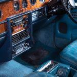 Rolls Royce Silver Shadow II blauw-9423