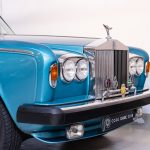 Rolls Royce Silver Shadow II blauw-9435