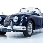 Jaguar XK150 blauw-