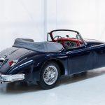 Jaguar XK150 blauw-9932