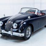 Jaguar XK150 blauw-9933