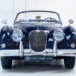 Jaguar XK150 blauw-9934