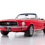 ford Mustang rood-