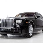 Rolls Royce Phantom zwart-